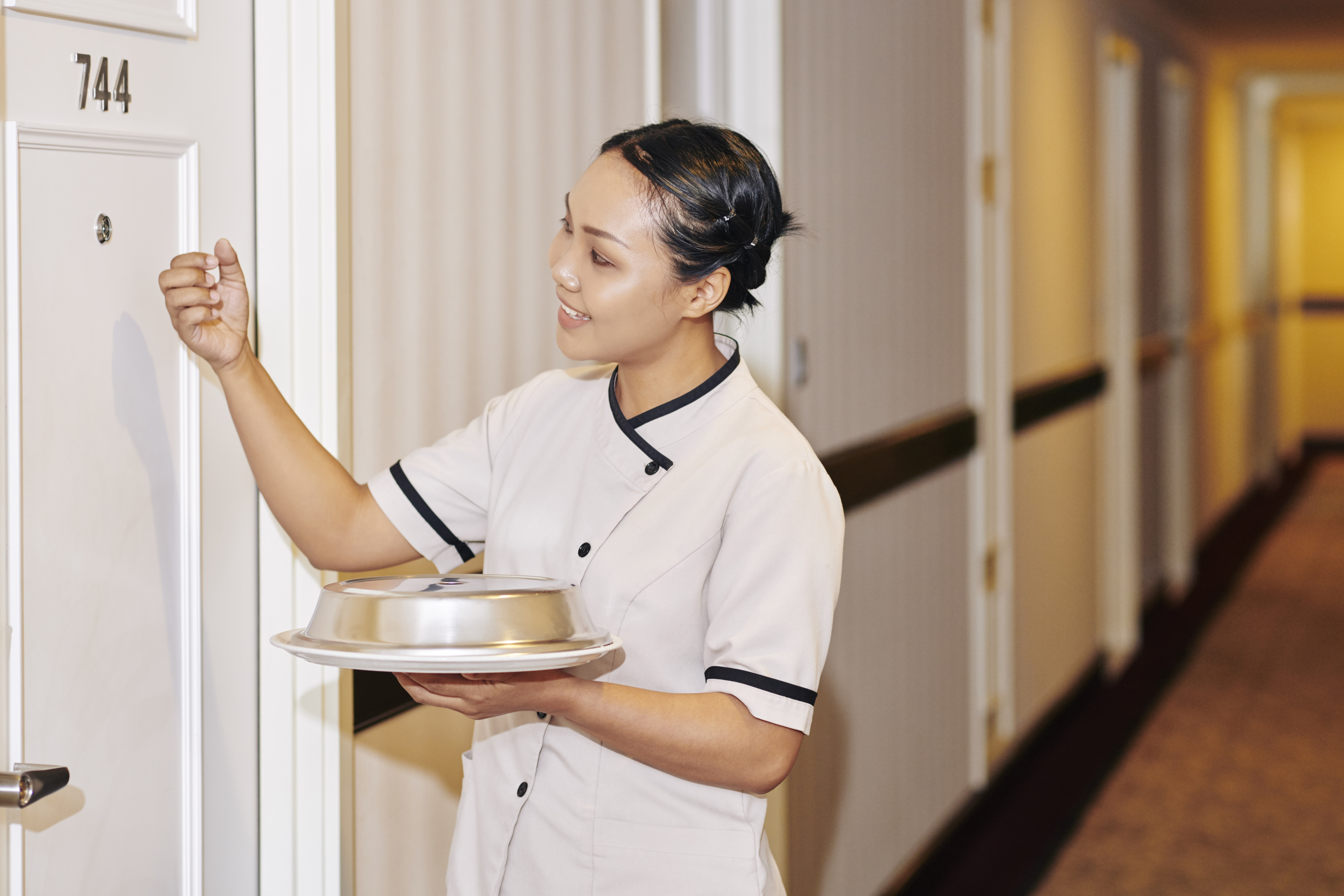 Room Service With a Smartphone